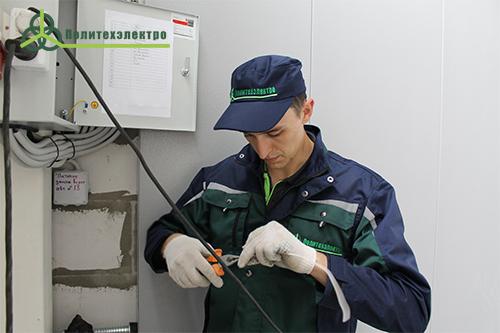 Электромонтаж щитового электрооборудования